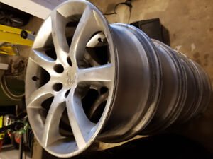 G35 winter tires and g35 18s 5-spoke rims