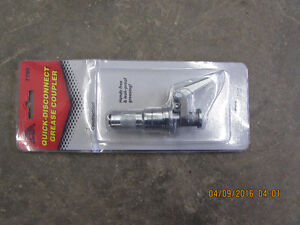 Quick coupler for grease gun London Ontario image 1