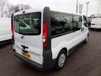 Vauxhall Vivaro SHUTTLE BUS 9 SEATER LWB 2.0CDTI 115PS DIESEL MANUAL (2013)