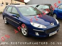 2007 PEUGEOT 407 2.0 HDi 136 SE 2YR FREE CREDIT OFFER