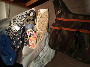 Diaper bag and other baby items