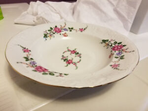 Complete dish set - 8 place settings -- 55 pieces total