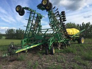 Deere 1820 41' Air Drill for sale