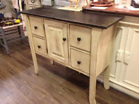 McCrae Table Anchique Sideboard Buffet NEW!