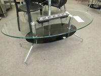 Modern coffee table tempered glass top,new
