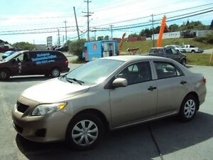 2010 Toyota Corolla CE Sedan 36 mo warr inc WE FINANCE