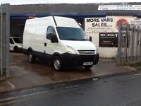 2008 1 owner iveco daily mwb van 2.3 diesel 135k full service history from new