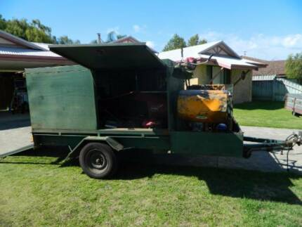 Full set lawn mowing equipment and trailer for sale due to injury Woodlands Stirling Area Preview