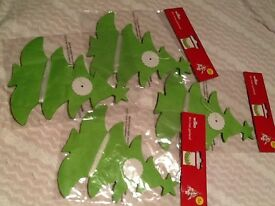 4 packs of 4m Xmas tree garland New