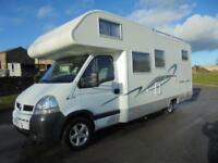 Adria Izola A697 SL rear garage rear bed coachbuilt motorhome for sale Ref 13035