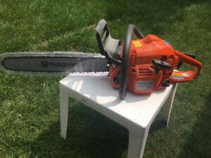 Brand new Husqvarna 440 chain saw