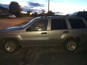 2002 Olympic edition grand Cherokee 4.7 V8