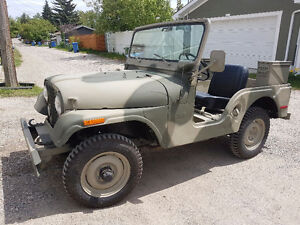 1971 Jeep CJ5 Dauntless V6. Very good condition