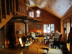 Log cottage/home on beautiful lake 30 minutes to Mont Tremblant West Island Greater Montréal image 2