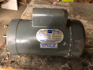 Electric motors ph1 single please 110v or 220 v. 1-1/2 hp .3/4hp