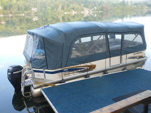 2008 Princecraft Vantage 20' pontoon