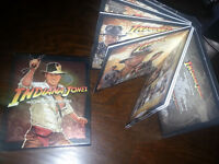 La collection Indiana Jones (les 4 films)