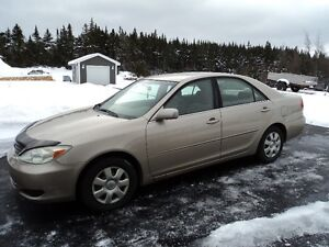 2002 Toyota Camry (Great for parts) St. John's Newfoundland image 1