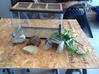 10 gallon reptile enclosure with mesh lid