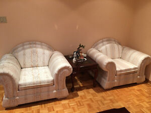 Sofa set/coffee table/side tables West Island Greater Montréal image 3