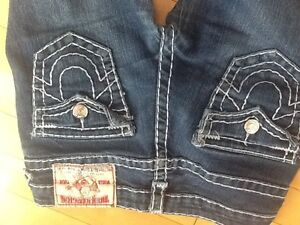 Brand new women's True Religion jeans with tags and retail bag! Edmonton Edmonton Area image 7