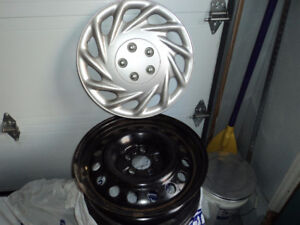 4 winter rims and covers