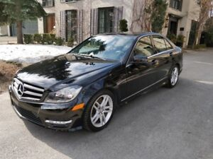 2014 Mercedes-Benz C300 4matic Very Low Kilometers