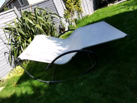 Two person patio sun lounger