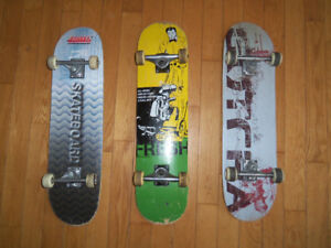 Planches a roulette skate board