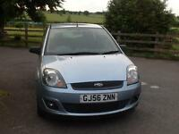 Ford Fiesta 1.4 Durashift 2006.5MY Zetec Climate full service history