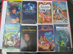 DISNEY CLASSICS SCOOBY DOO KIDS VHS TAPES LARGE LOT $2 EACH