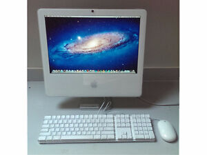 iMac 17 from 2006 With Adobe CS3, Office 2004