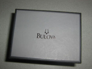 BULOVA IMMACULATE WATCH - BOUGHT LAST DEC 2016
