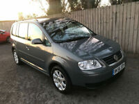 2006 56 Volkswagen Touran 1.9TDI SE 7 SEATS 96k 105 BHP 6 SPEED 53.3 MPG P/X