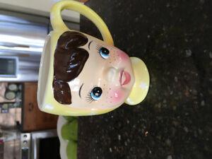 "Collectable Mug ""Cutie Pie "" Yellow"