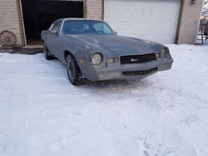 All original 1978 Camaro LT 350 v8 running and driving