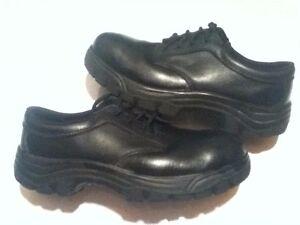JB Goodhue Low Tops Steel Toe Work Shoes Size 7