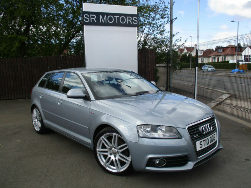 2010 audi a3 2 0tdi 170ps quattro sportback s line audi history warranty in southside. Black Bedroom Furniture Sets. Home Design Ideas