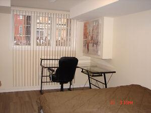 New 1 Bdrm Furnished Bsmt Apartment York University @ Keele