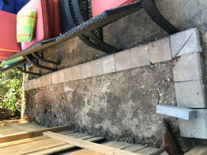 Retaining wall / boarder stone for gardens