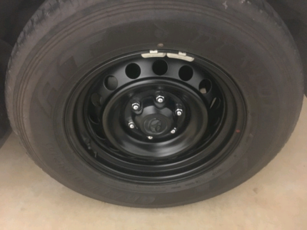 Toyota Hilux SR wheels and tyres 2017 Lennox Head Ballina Area Preview