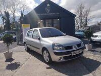 Renault Clio 1.5 DCI 65 DYNAMIQUE A/C (silver) 2005