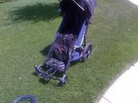 Special Needs Stroller/Jogger. 150 lb cap.Better than wheelchair