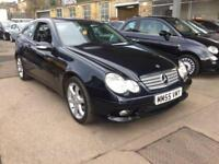 Mercedes-Benz C200 2.1TD Sport Edition 3 door - 2005 55-REG - FULL 12 MONTHS MOT