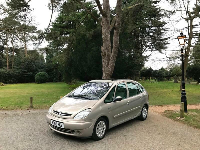 2003 citroen xsara picasso 2 0 hdi 90hp turbo diesel exclusive 5 door mpv in bournemouth. Black Bedroom Furniture Sets. Home Design Ideas