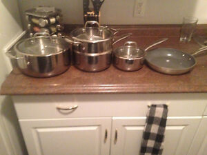 8 piece Paderno professional series cookware8 piece comes with l