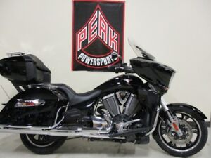 2014 Victory Motorcycles Cross Country Tour Gloss Black