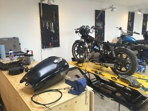 Motorcycle Garage for rent