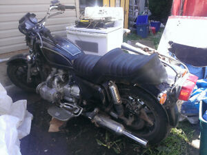 1983 HONDA 1100 GOLDWING INTERSTATE FOR SALE FOR PARTS.