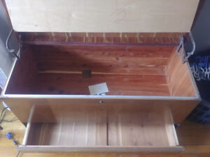 Canadian made vintage cedar chest